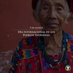 Día internacional de los pueblos indígenas!!!
